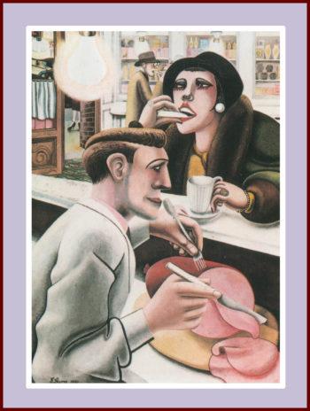 Edward Burra - The Snack Bar