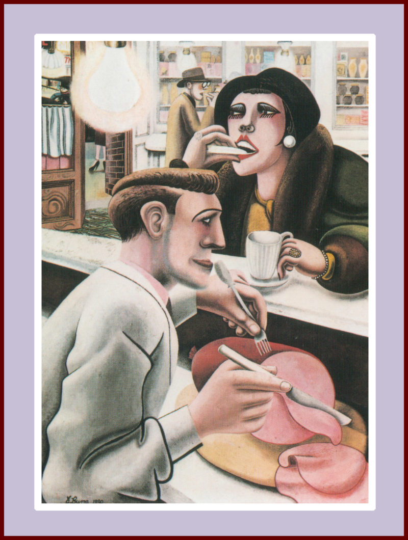 Edward Burra - The Snack Bar