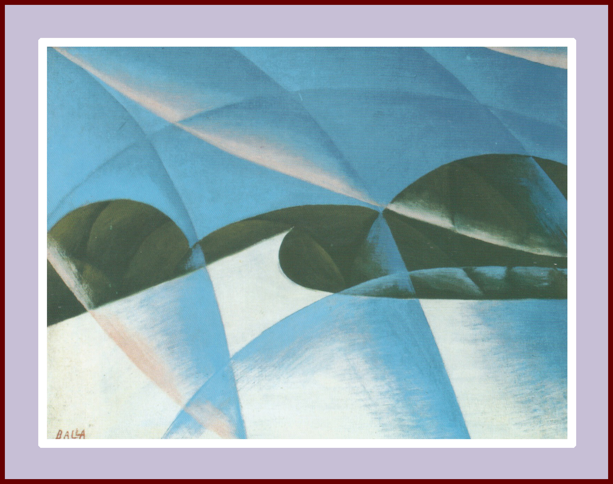 Speed And Sound Giacomo Balla Painting 301 Moved