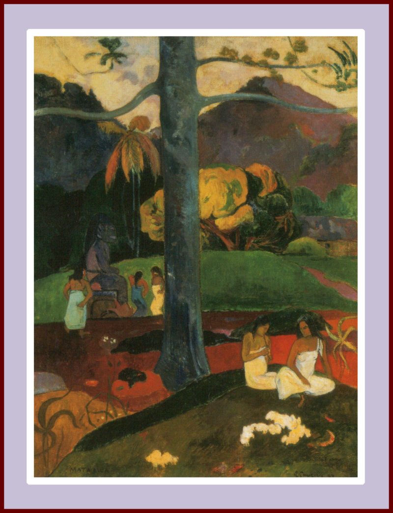 Paul Gauguin, Mata Mua