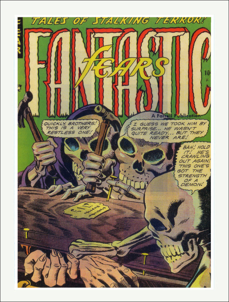 Fantastic Fears Comic
