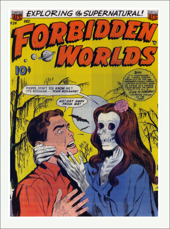 Forbidden Worlds Comics