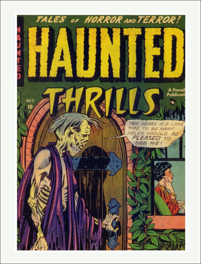 Haunted Thrills Comics