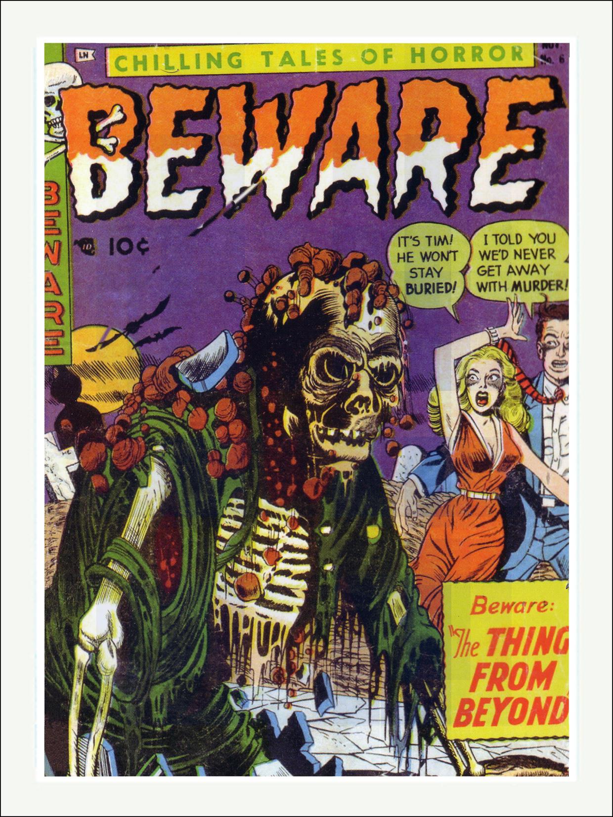 Beware Horror Comics