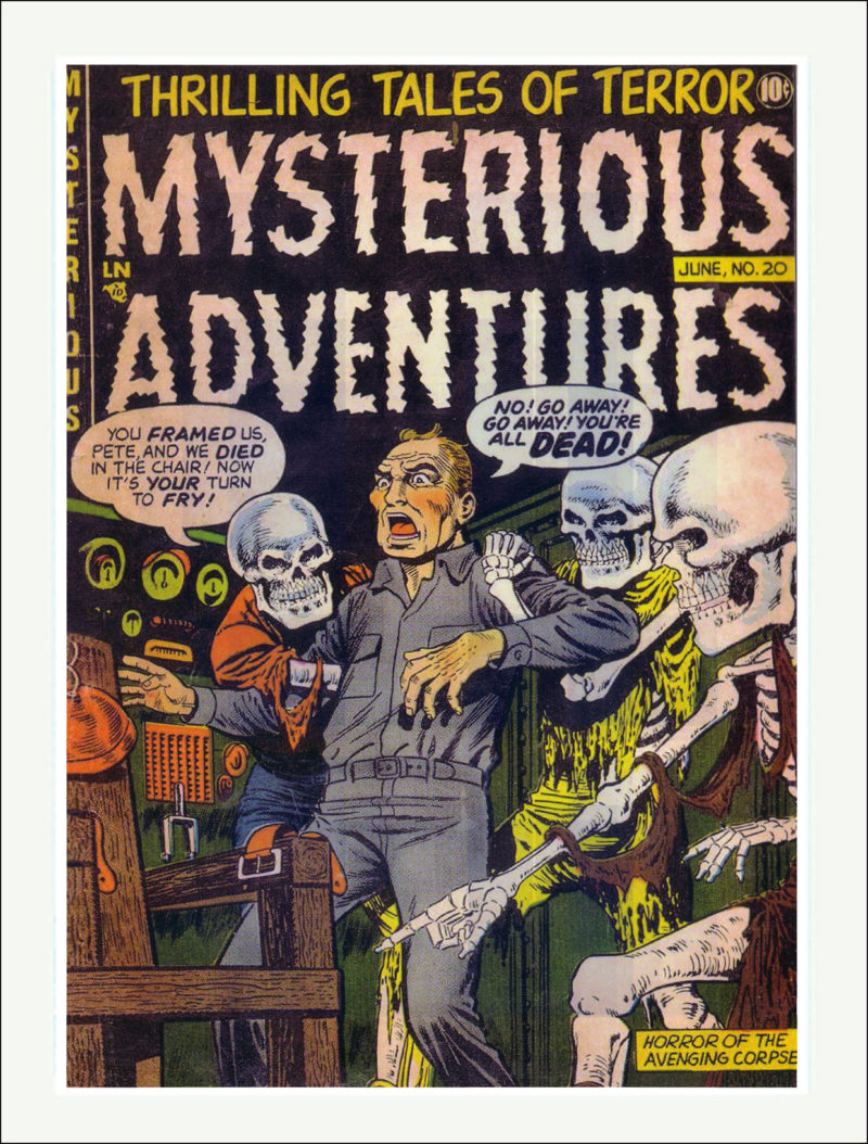 Mysterious Adventures Comics