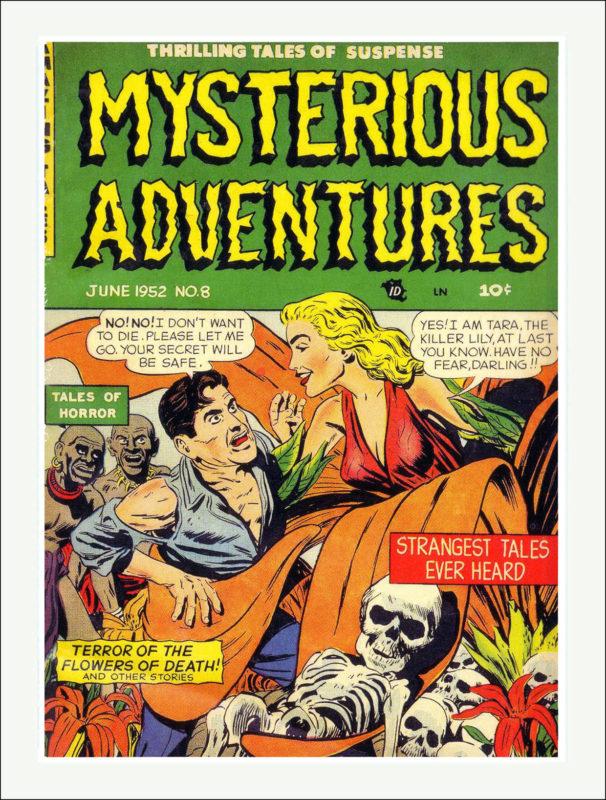 Mysterious Adventures Comics