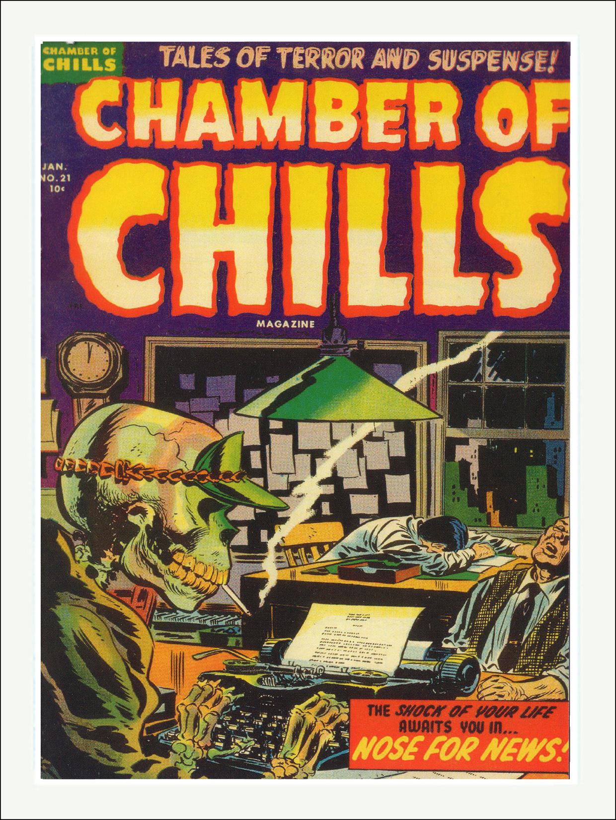 Chamber of Chills Comics