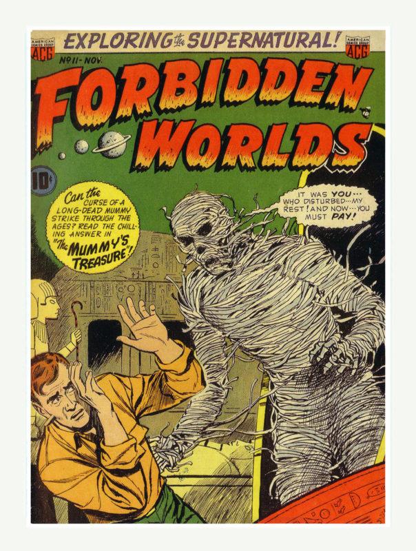 Forbidden Worlds Comics