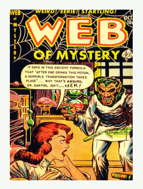 Web of Mystery Comics