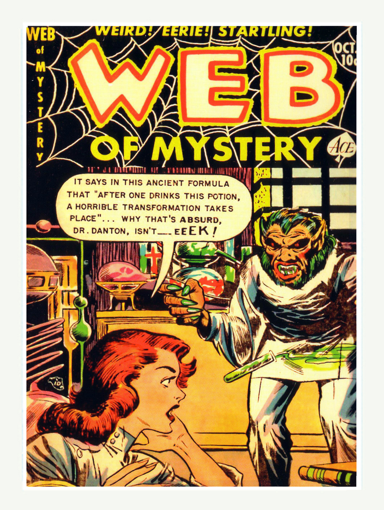 Web of Mystery Comics