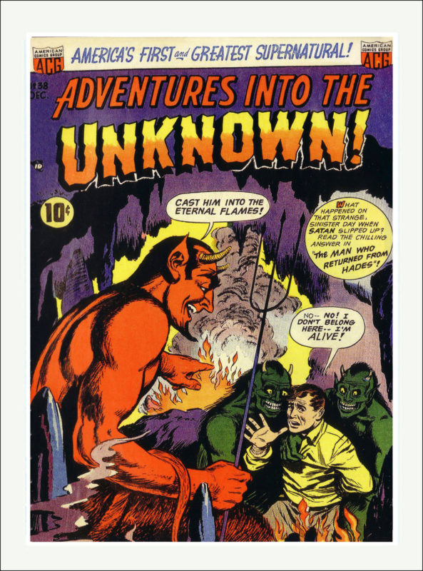 Adventures into the Unkown Comics