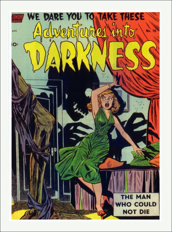 Adventures into Darkness Comics