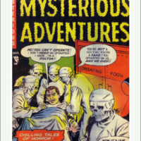 Mysterious Adventures Comic