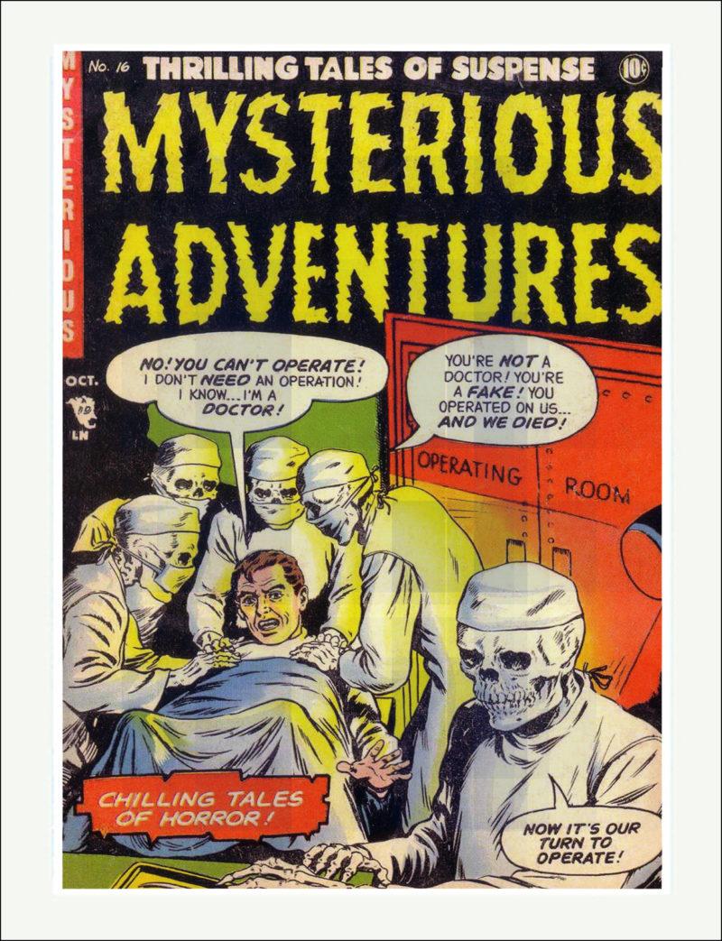 Mysterious Adventures Comic