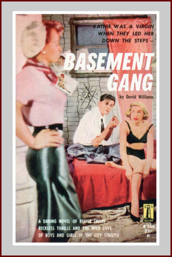 Basement Gang, pulp fiction novel