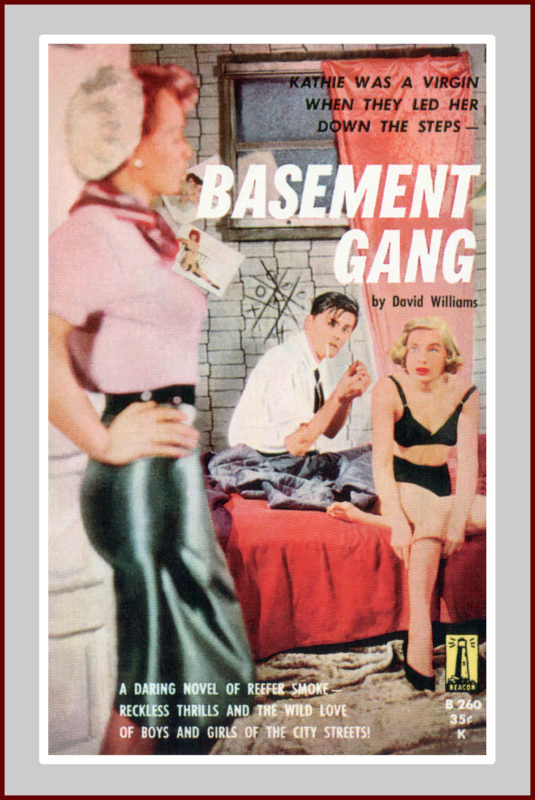 Basement Gang, pulp fiction novel