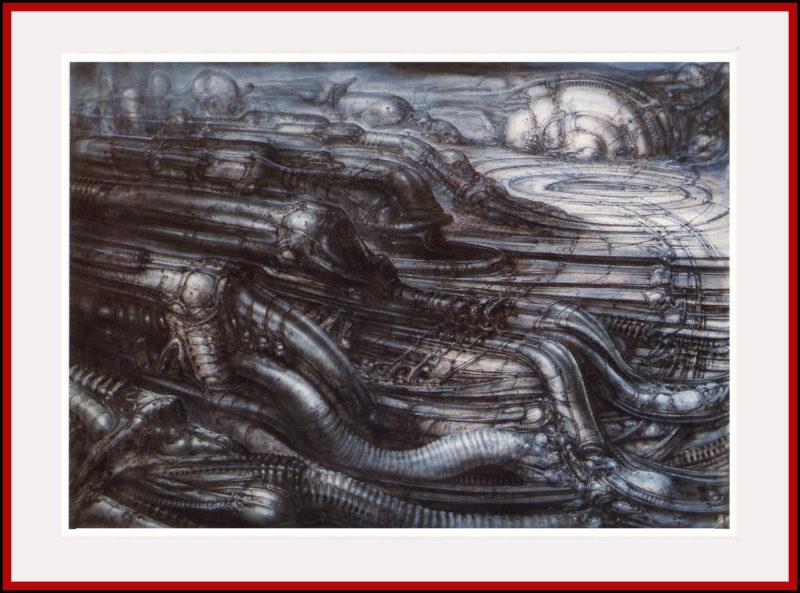 Biomechanoid Landscape III (1979)