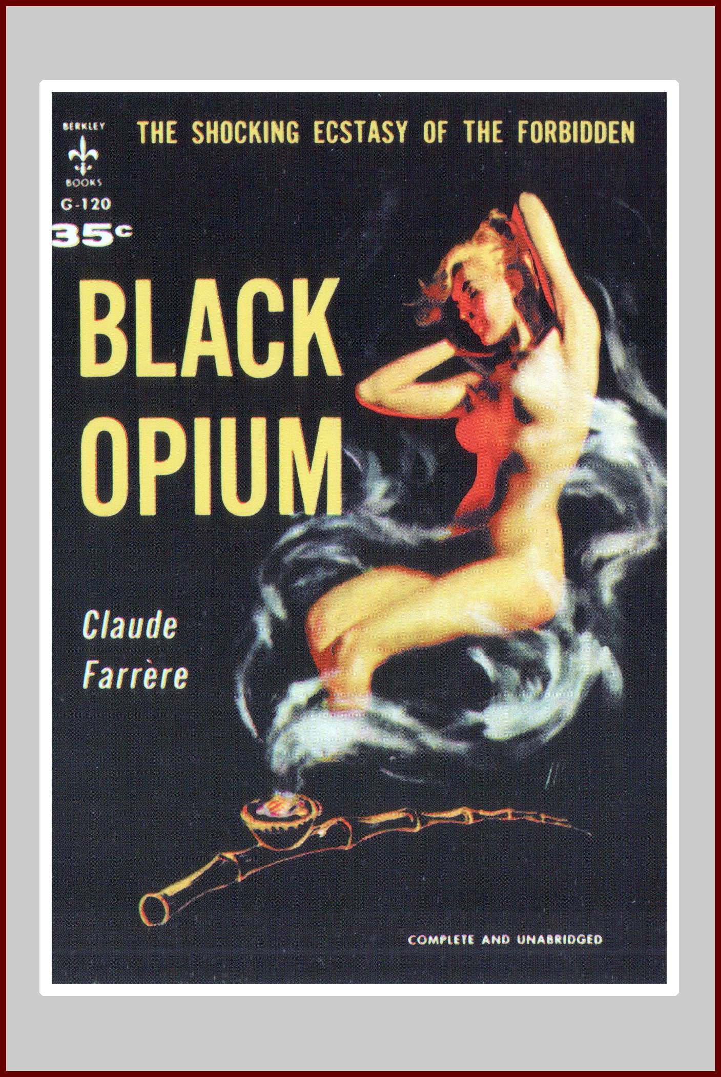 Black Opium, A Pulp Fiction Novel