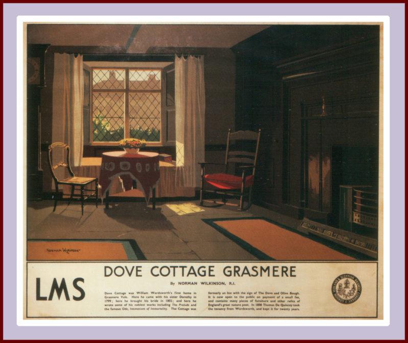 Dove Cottage Grasmere, Norman Wilkinson