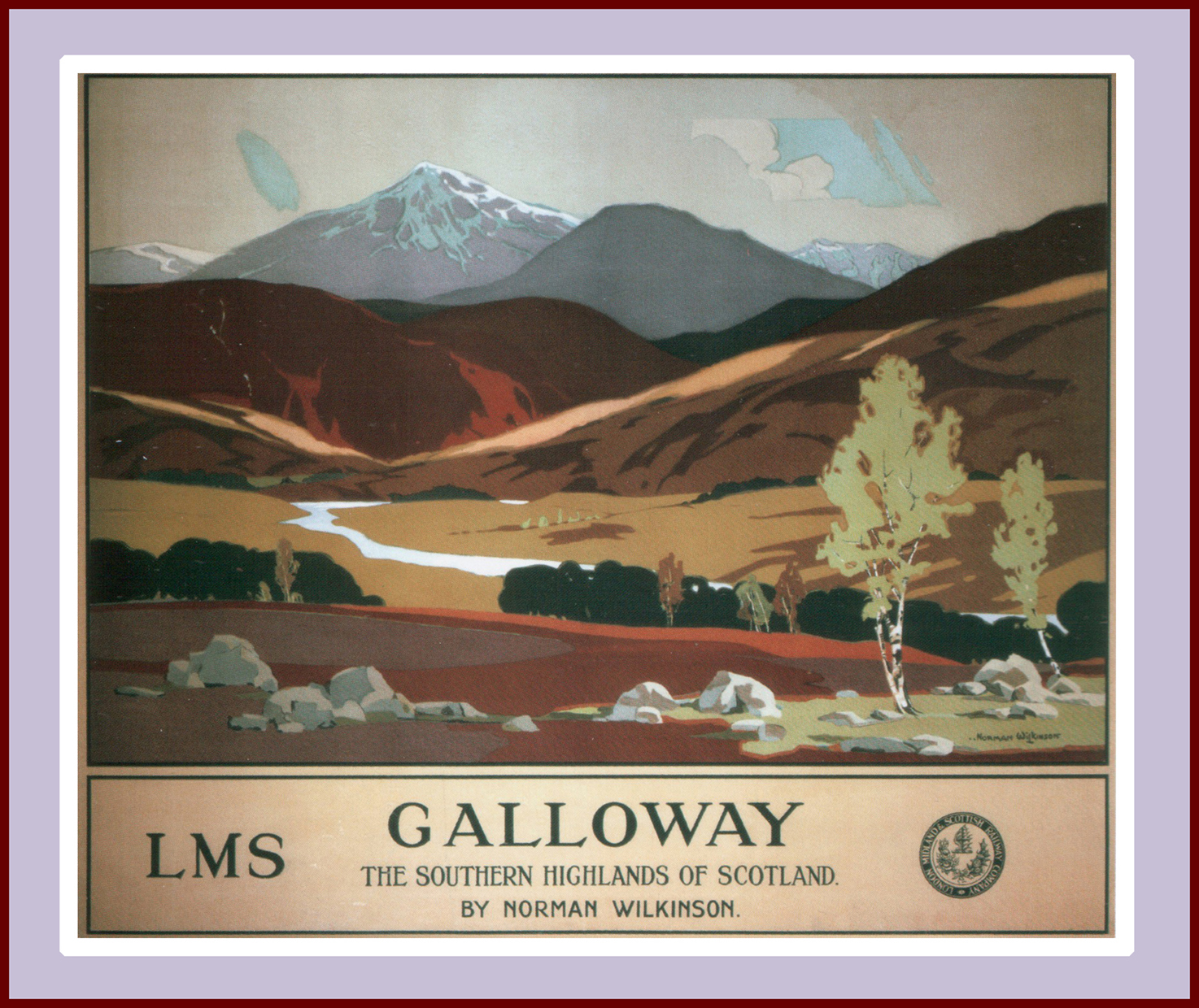 Galloway, Scotland, Norman Wilkinson