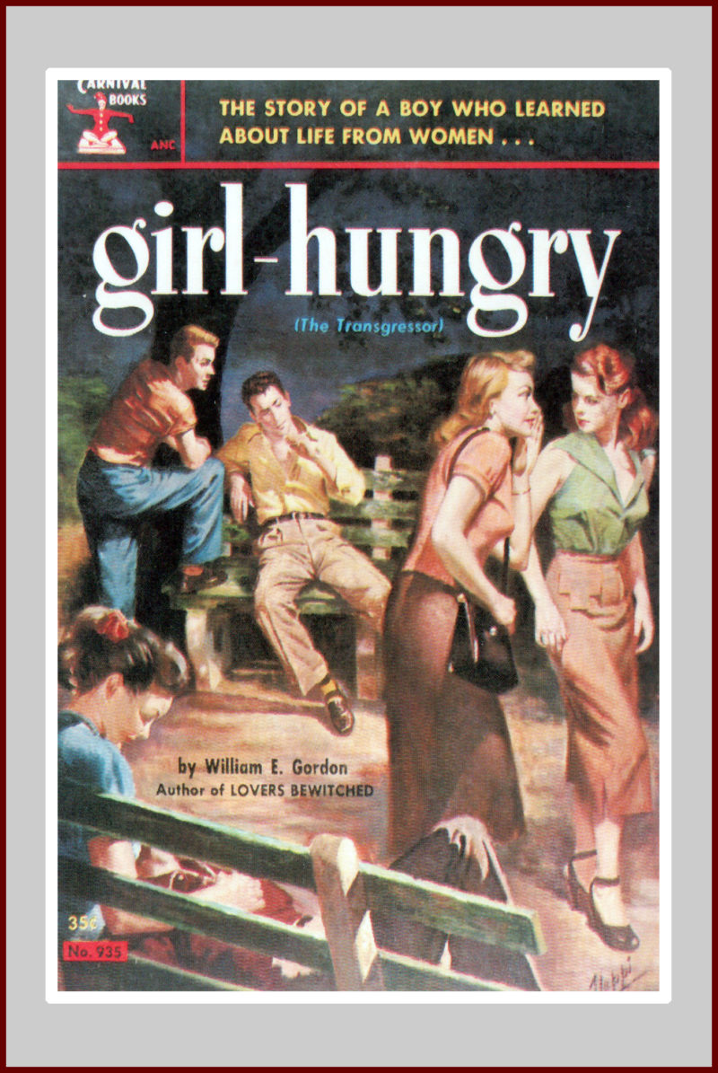 Girl hungry, a pulp novel