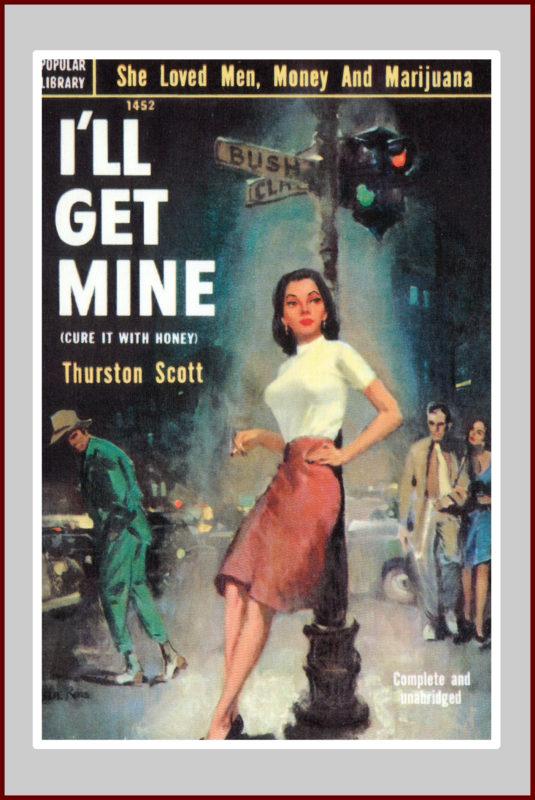 I'll Get Mine, pulp fiction novel