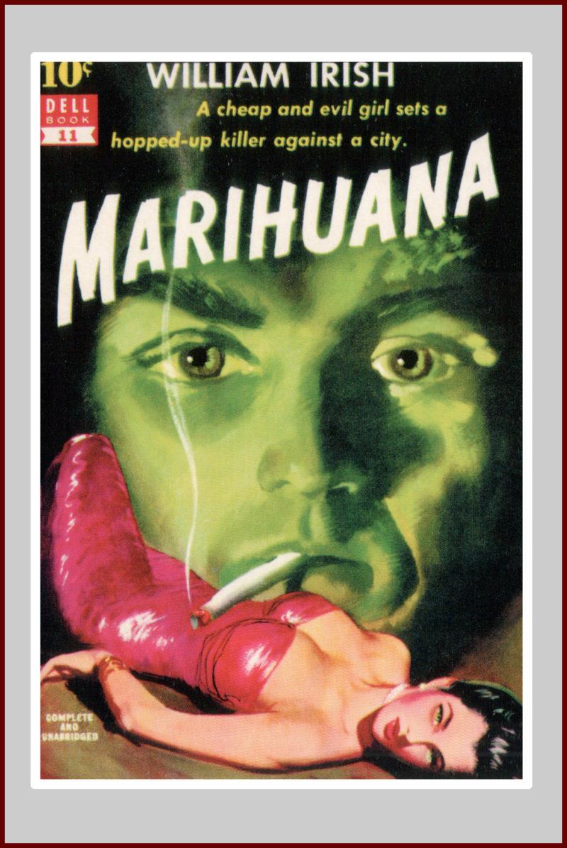 Marihuana Pulp Novel