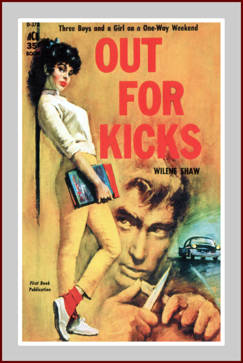 Out for Kicks, Pulp Fiction Novel