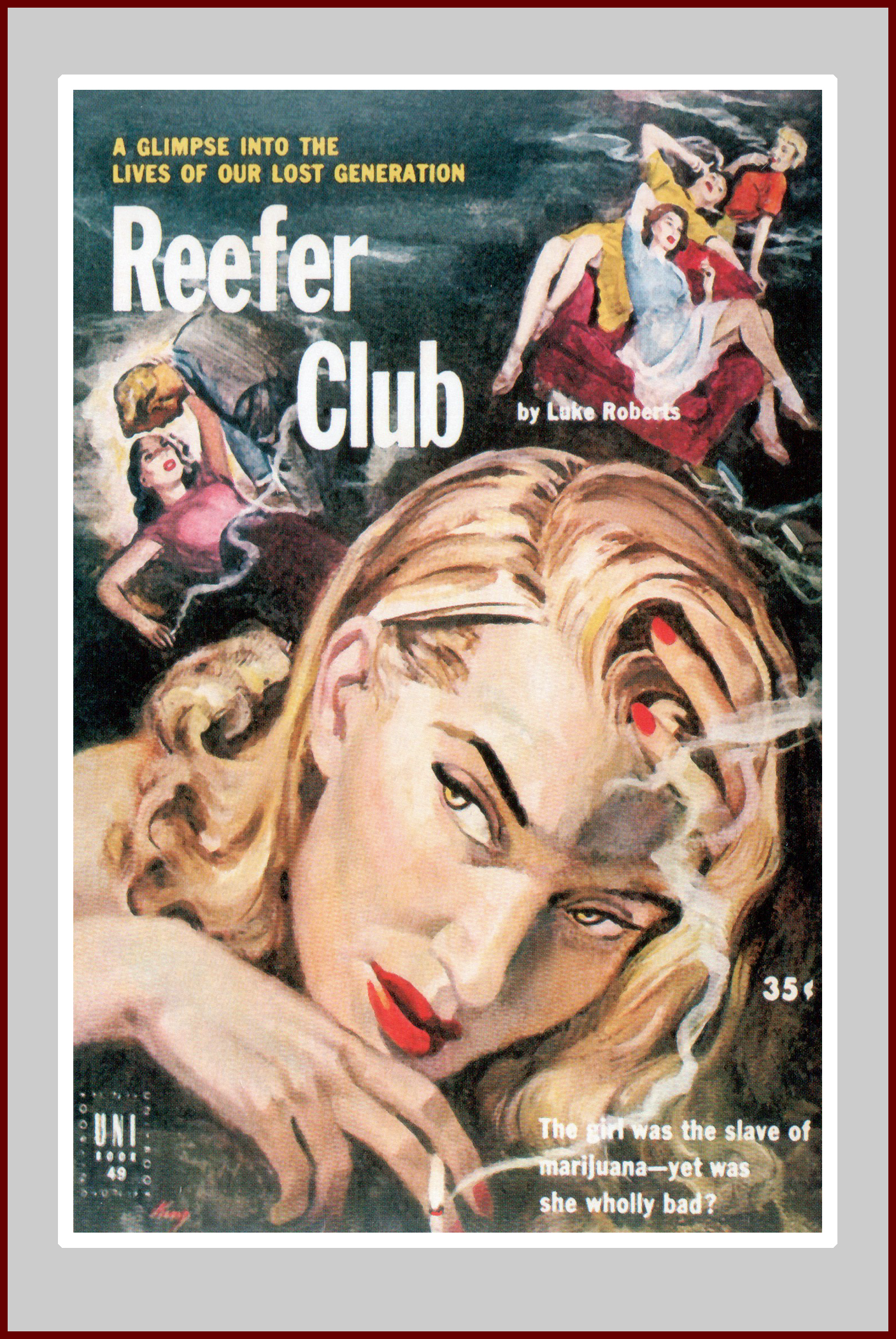 Reefer Club pulp fiction novel