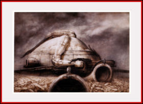 'Schlob Harkonnen' Project for the film Dune - 1975