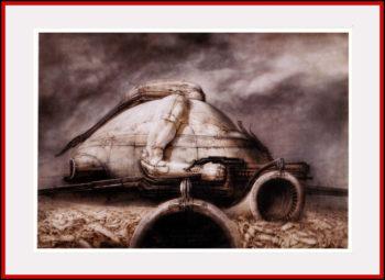 'Schlob Harkonnen' Project for the film Dune - 1975