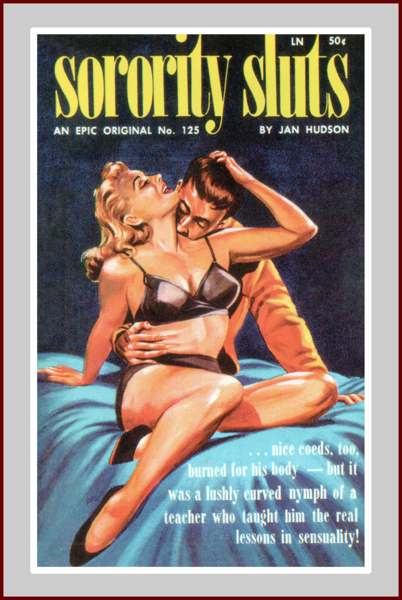 Sorority Sluts, pulp fiction novel