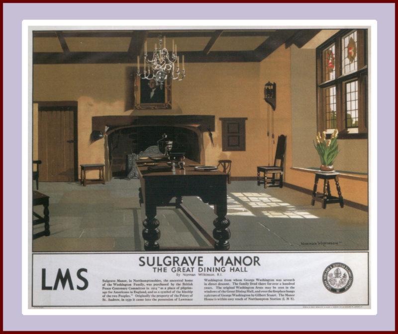 Sulgrave Manor, Norman Wilkinson