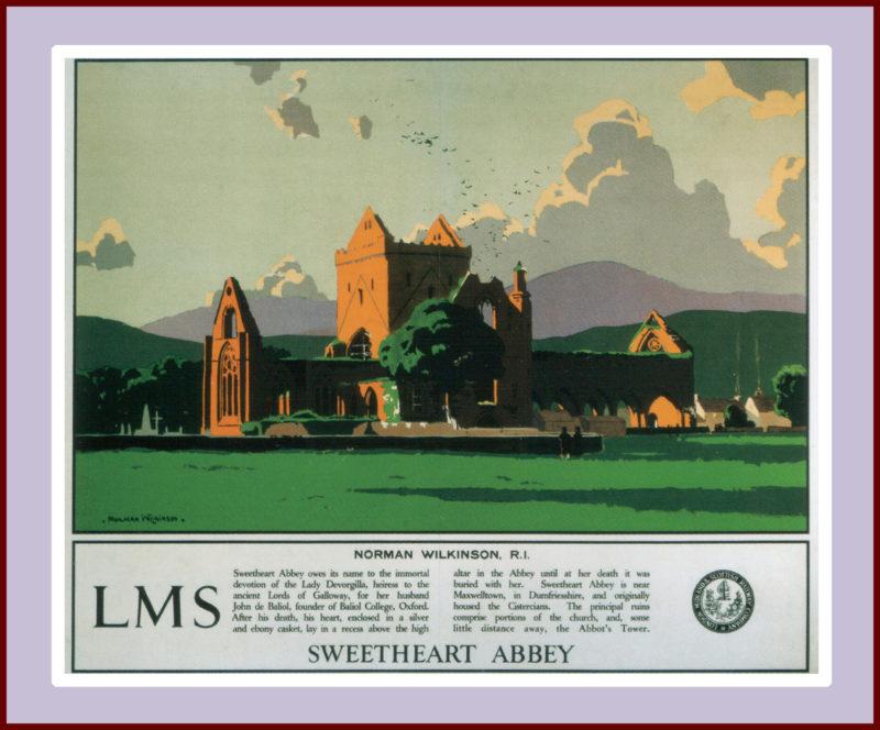 Sweatheart Abbey, Norman Wilkinson