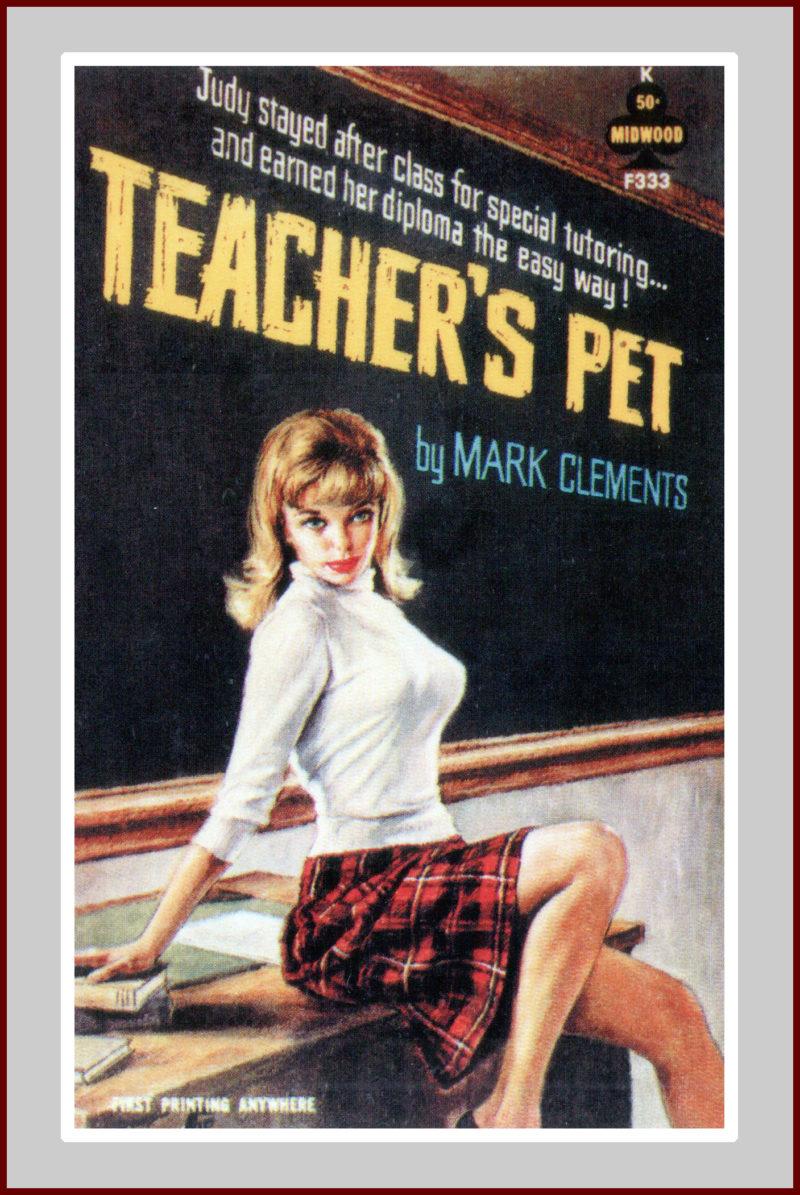 Teachers Pet, pulp fiction novel