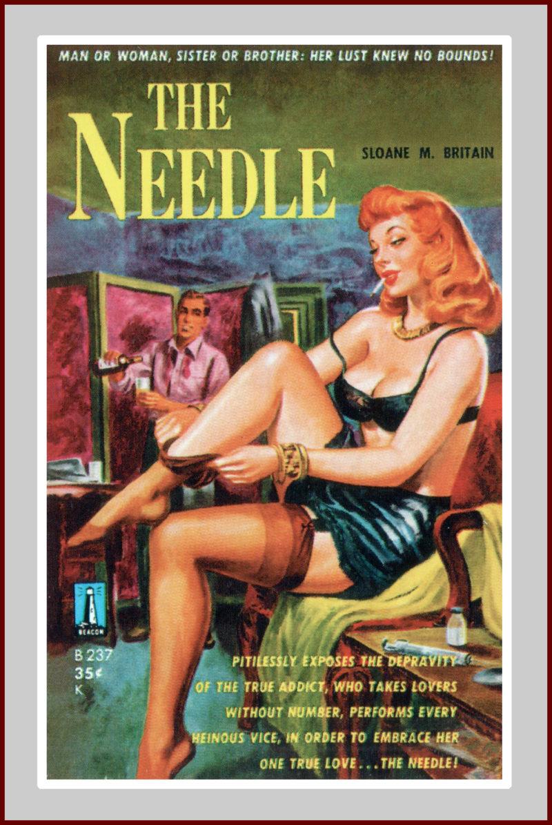 , pulp fiction novel
