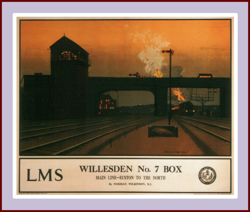 Willesden box No. 7, Norman Wilkinson