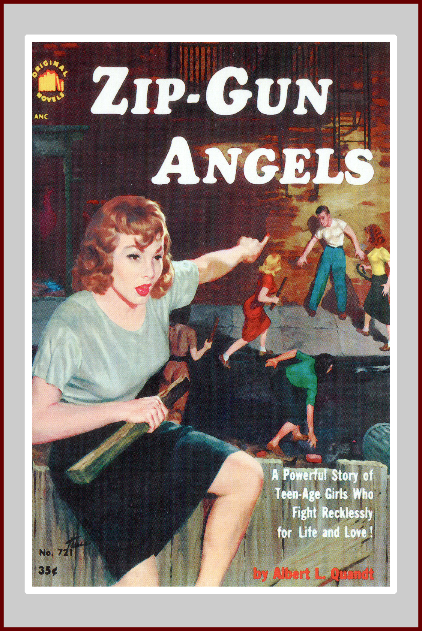Zip Gun Angels, a pulp fiction novel
