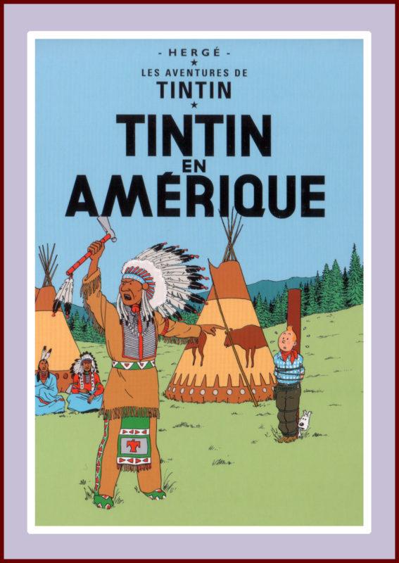 Herge's Tintin en Amérique