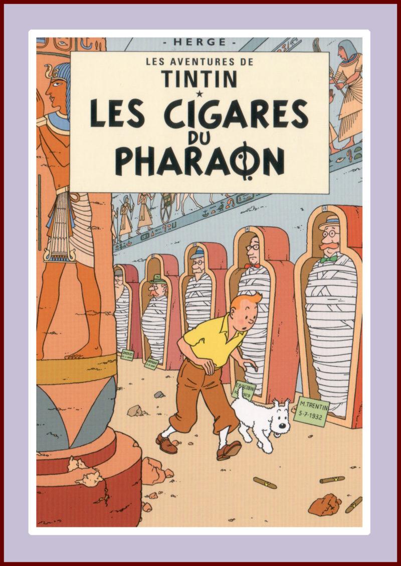 Herge's Tintin: Cigares du Pharaon
