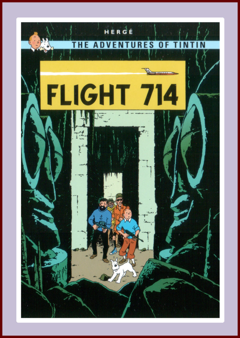 Tintin; Flight 714