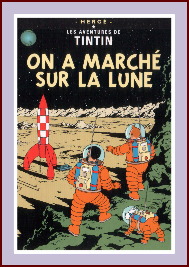 Herge: Explorers on the Moon
