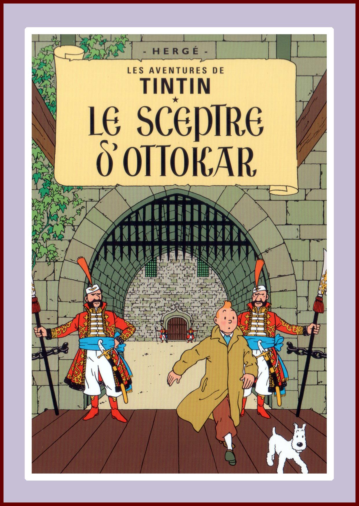 Herge; Tintin, Le Sceptre d'Ottokar