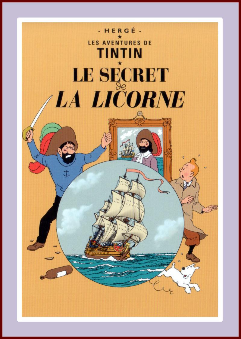 Herge's Tintin: Secret La Licorne