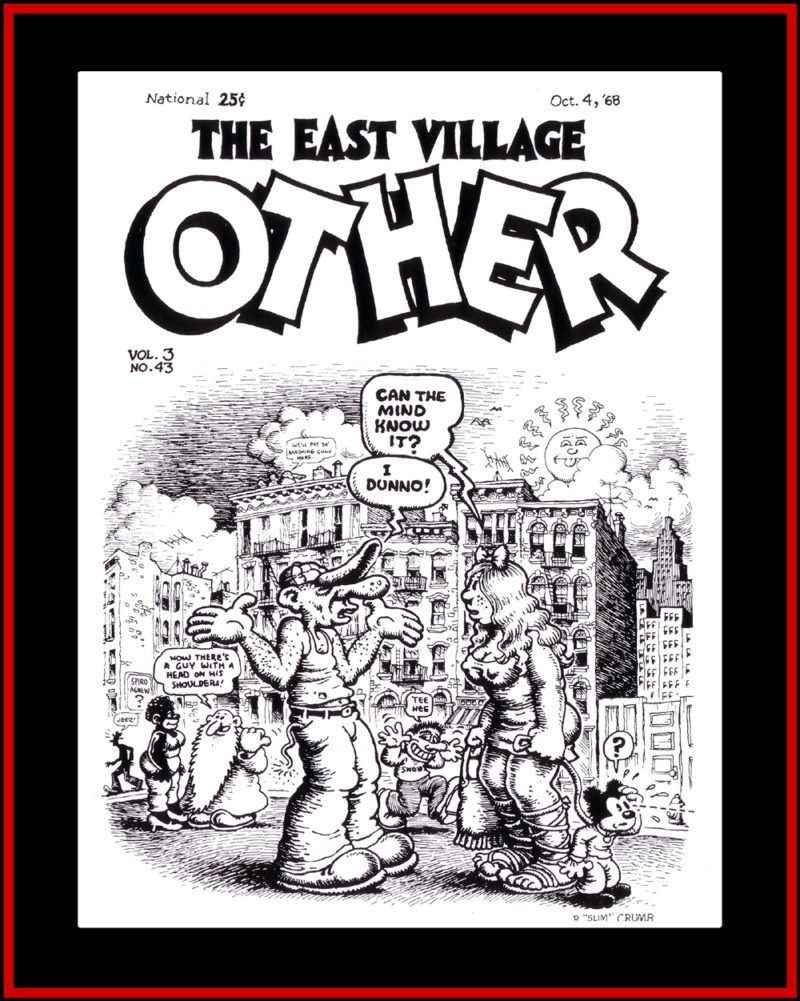 Robert Crumb East Village