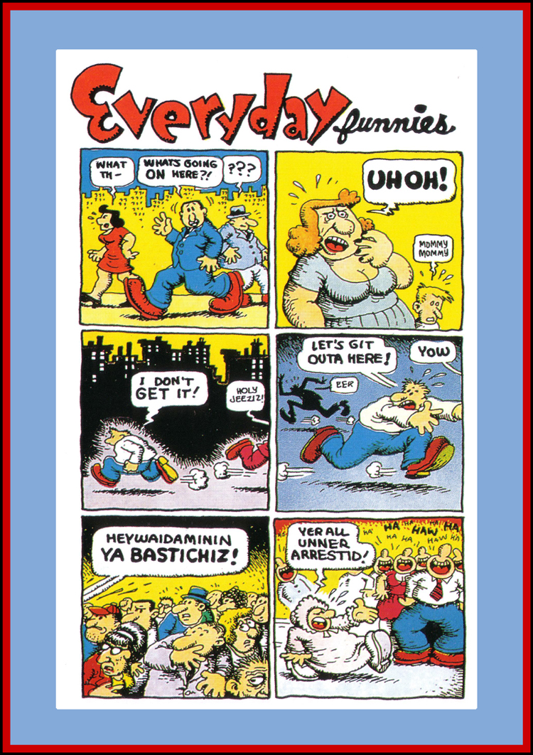 Robert Crumb Everyday Funnies