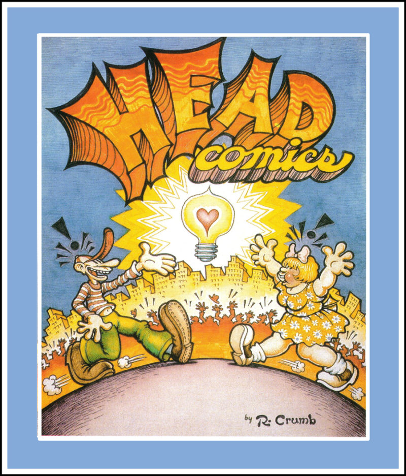 Robert Crumb Head Comics