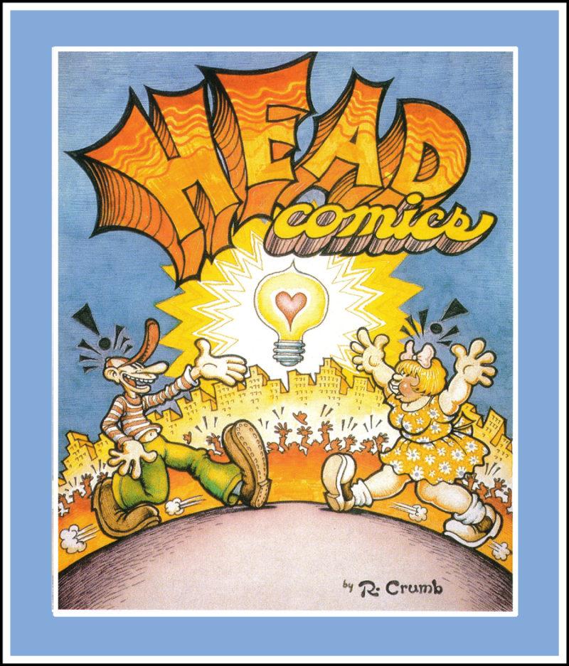 Robert Crumb Head Comics