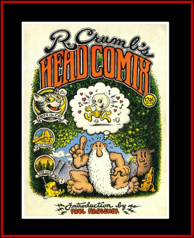 Robert Crumb Head Comix