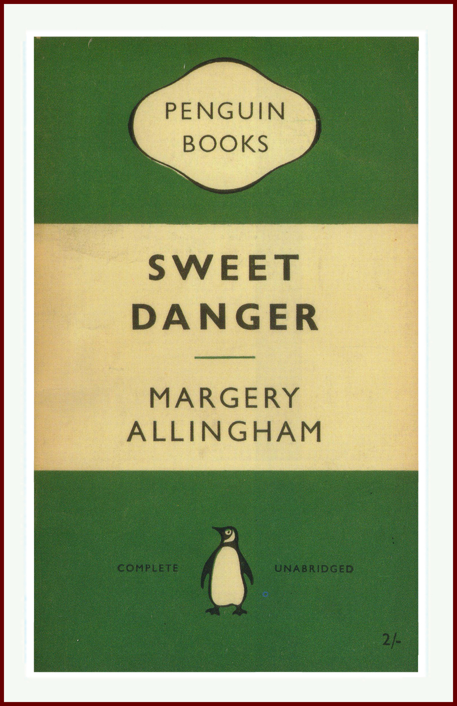 Sweet Danger Margery Allingham